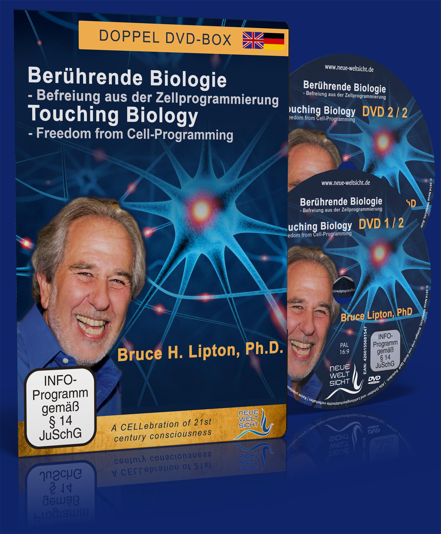 Berührende Biologie - Bruce Lipton: Befreiung aus der Zellprogrammierung  (Doppel-DVD)